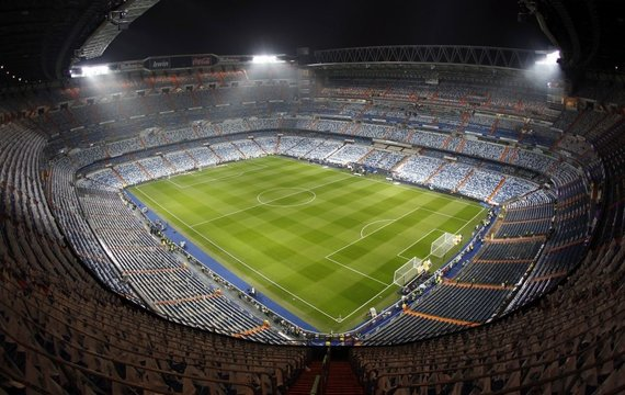 """Reuters""/""Scanpix"" nuotr./""Santiago Bernabeu"" stadionas iš vidaus"