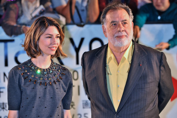 Vida Press nuotr./Sofia Coppola ir Francis Fordas Coppola