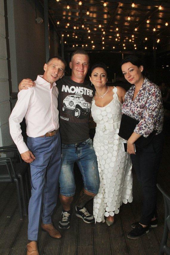 Rūtos Andre nuotr. /Žvaigždžių stilistė Rūta Morozovienė atnaujino santuokos įžadus