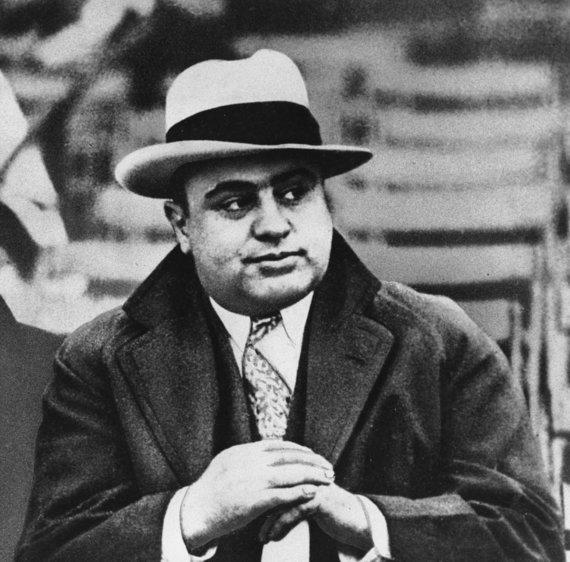 """""""Scanpix""""/AP nuotr./Legendinis gangsteris Al Capone 1931 metais"""