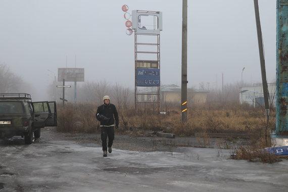 Asmeninio albumo nuotr./Fronto linija Ukrainoje