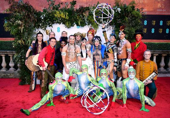 """""""Scanpix""""/""""PA Wire""""/""""Press Association Images"""" nuotr./""""Cirque du Soleil"""" artistai"""