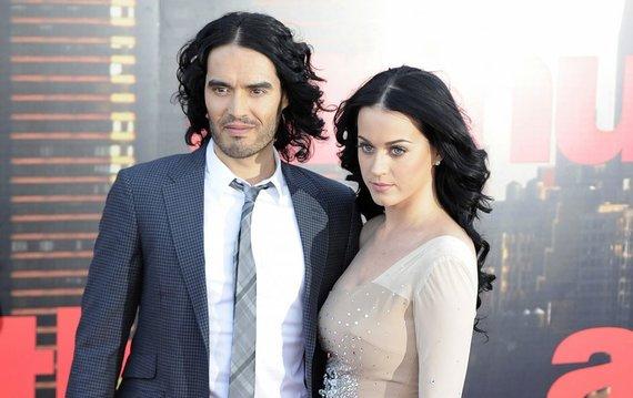 """Reuters""/""Scanpix"" nuotr./Katy Perry ir Russellas Brandas"