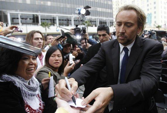 """Reuters""/""Scanpix"" nuotr./Nicolas Cage'as"