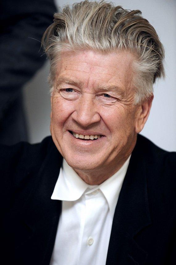 """AFP/""""Scanpix"""" nuotr./Davidas Lynchas švenčia 68-ąjį gimtadienį"""