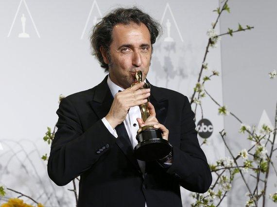 """""""Reuters""""/""""Scanpix"""" nuotr./""""Didžio grožio"""" režisierius Paolo Sorrentino"""