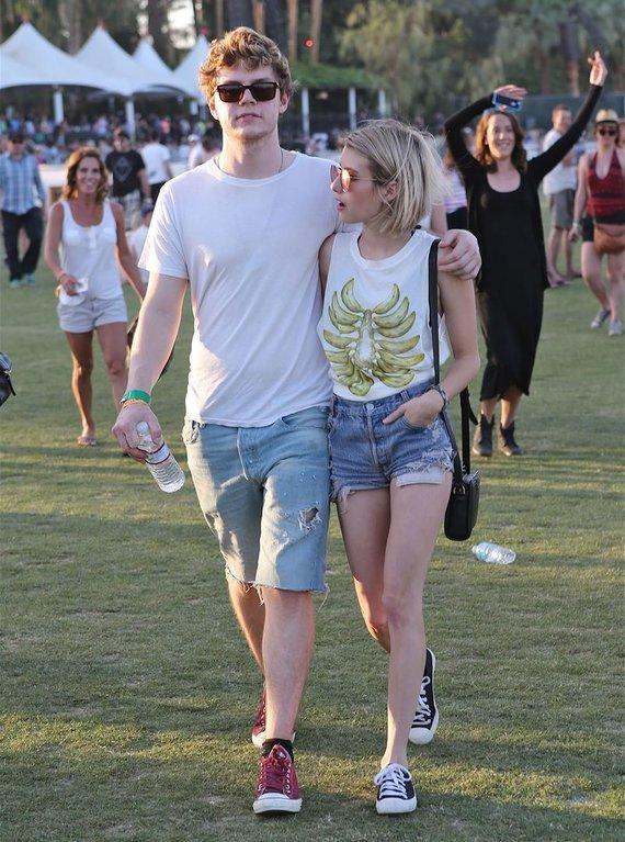 AOP nuotr./Evanas Petersas ir Emma Roberts