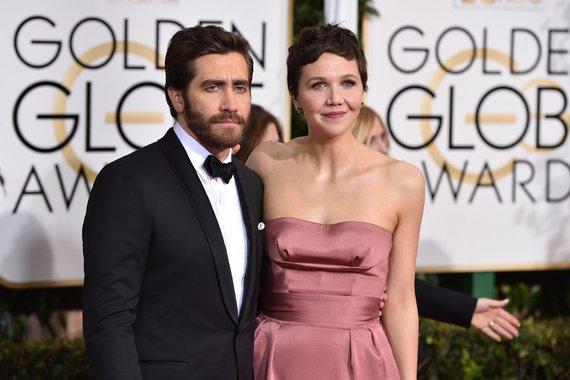 """""""Scanpix""""/AP nuotr./Jake'as Gyllenhaalas ir Maggie Gyllenhaal"""