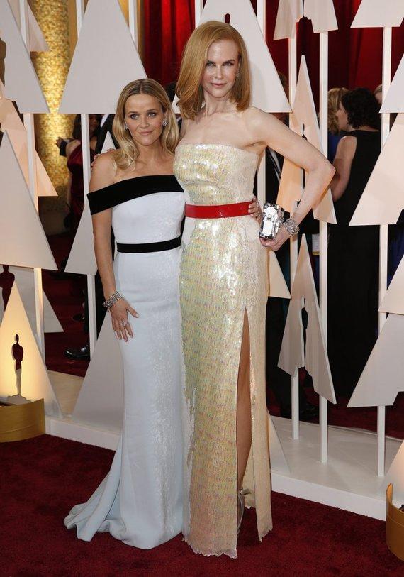 """Reuters""/""Scanpix"" nuotr./Reese Witherspoon ir Nicole Kidman"