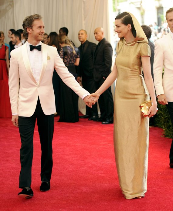 """Scanpix""/AP nuotr./Adamas Shulmanas ir Anne Hathaway"