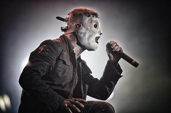 """Grupės archyvo nuotr./""""Slipknot"""""""
