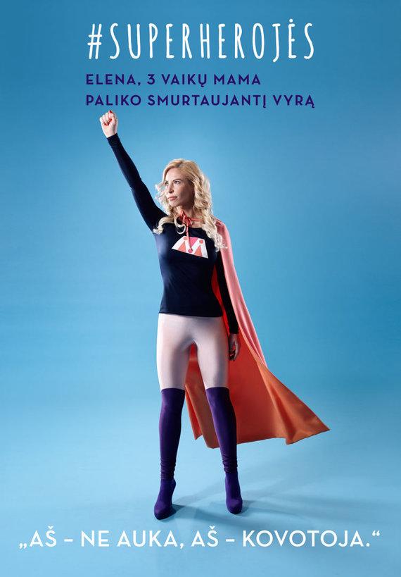 Neringos Rekašiūtės nuotr./Projektas #superherojės