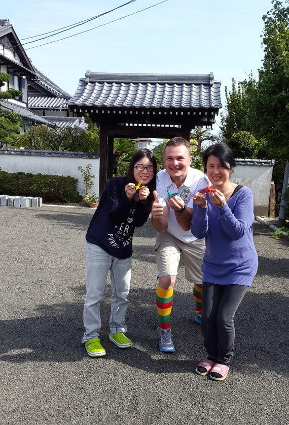 Asmeninio albumo nuotr./Giedrius Leškevičius Japonijoje