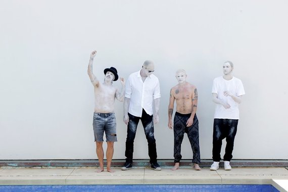 """""""Live Nation Lietuva"""" nuotr./""""Red Hot Chili Peppers"""""""
