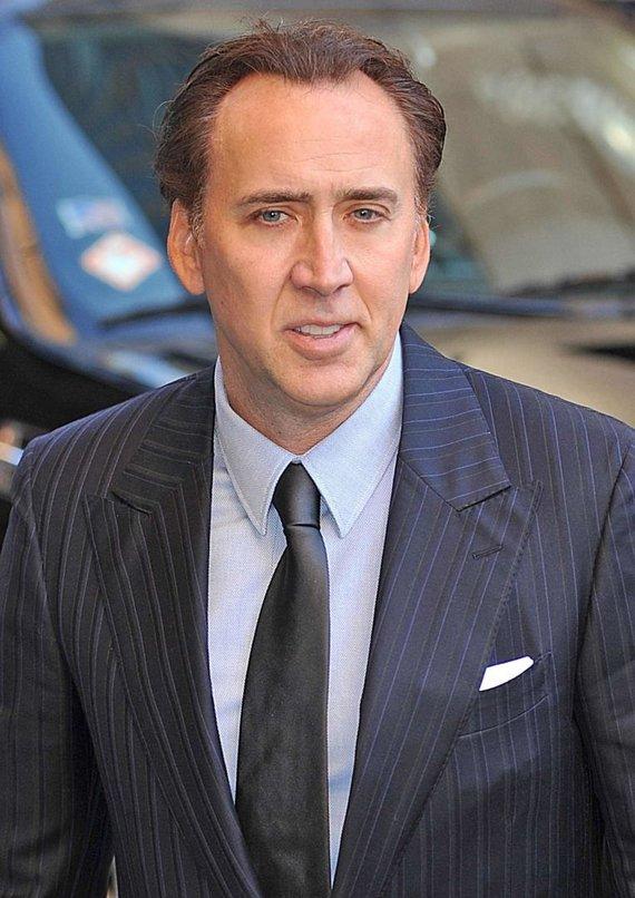 """""""Scanpix"""" nuotr./Nicolas Cage'as"""