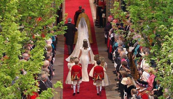 """Scanpix"" nuotr./Princo Williamo ir Kate Middleton vestuvės"