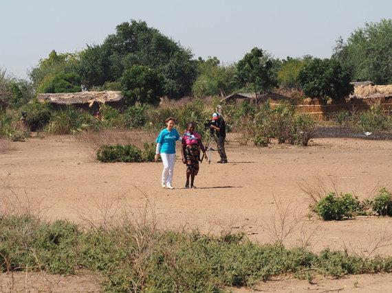 UNICEF nuotr./Virginija Kochanskytė UNICEF misijoje Malavyje