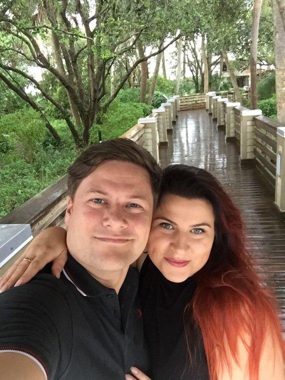 Asmeninio albumo nuotr./Merūno ir Erikos Vitulskių viešnagė JAV