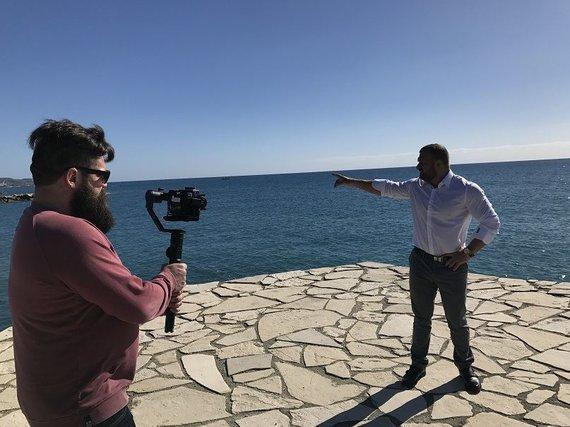 Asmeninio albumo nuotr./Ironvyto vaizdo klipo filmavimas Kipre