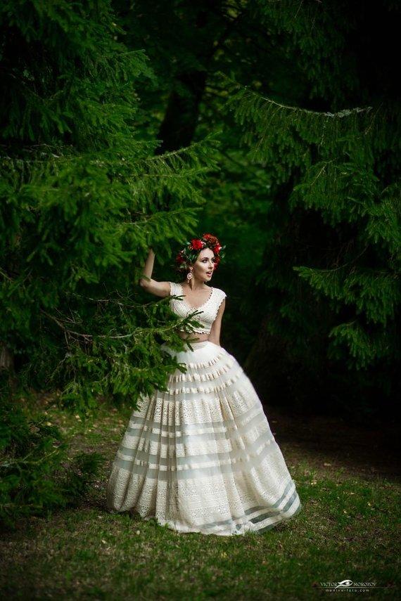 Viktoro Morozovo nuotr./Vestuvinių suknelių fotosesija
