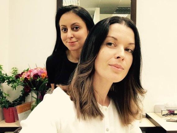 Asmeninio albumo nuotr./Rūta Morozovienė ir Laura Imbrasienė