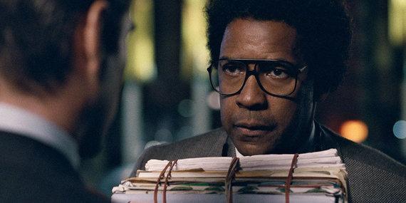 """Kadras iš filmo/Denzelis Washingtonas filme """"Roman J. Israel, Esq."""""""