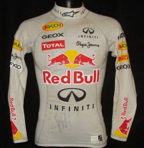 Komandos nuotr./Sebastiano Vettelio apatiniai marškiniai