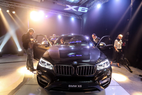 Juliaus Kalinsko/15min.lt nuotr./Naujojo BMW X6 pristatymas Lietuvoje