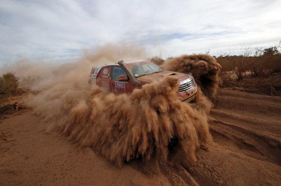"""""""Scanpix"""" nuotr./Antras Dakaro maratono greičio ruožas"""