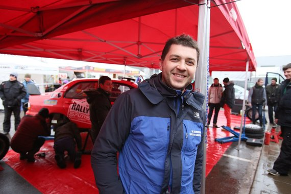 "Eriko Ovčarenko/15min.lt nuotr./""Halls Winter Rally"" serviso zona"