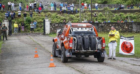 Gedmanto Kropio nuotr./Dakaro ketvirto etapo startas