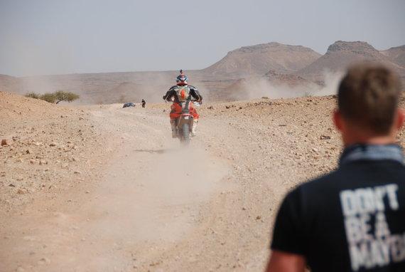 Aldonos Juozaitytės nuotr./Antroji Tuarego ralio diena