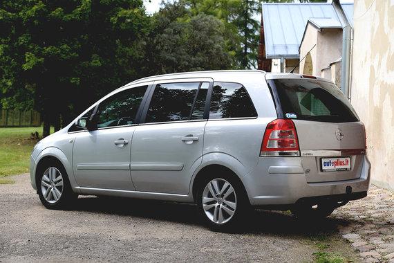 """Autoplius.lt nuotr./Naudotas """"Opel Zafira B"""""""
