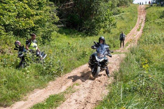 """BMW nuotr./""""BMW Motorrad Enduro"""" mokymai Lietuvoje"""