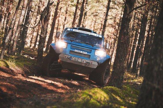 """Lietuvos """"Rally Raid"""" čempionato paskutinis etapas Sariuose"""