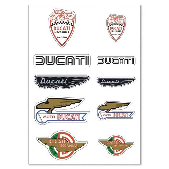 """Istoriniai """"Ducati"""" logotipai"""