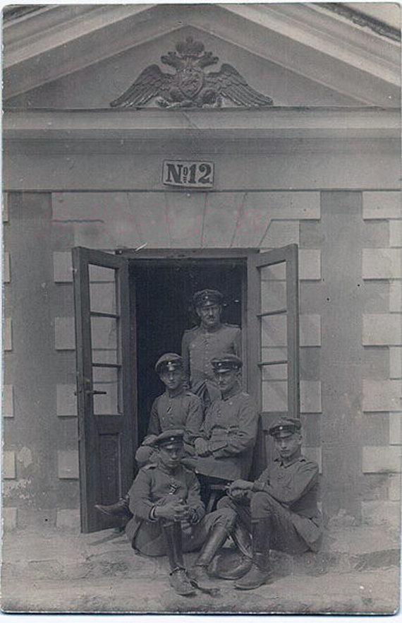 Wikipedia nuotr. /Taurogeno muitininkai 1915 m.