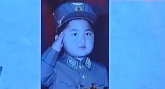 Youtube.com stills / Kim Jong Uno's childhood