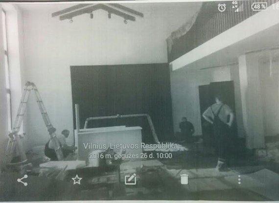 15min nuotr. /M.Mažvydo bibliotekos teismui pateikta nuotrauka