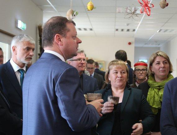 Jurgos Andriejauskaitės nuotr. /B.Markauskas ir S.Skvernelis