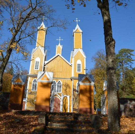 Rūtos Averkienės nuotr./Marcinkonių bažnyčia