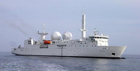 "Nuotr. iš https://www.compagnie-maritime-nantaise.com/Prancūzijos žvalgybos laivas ""Dupuy de Lome"""