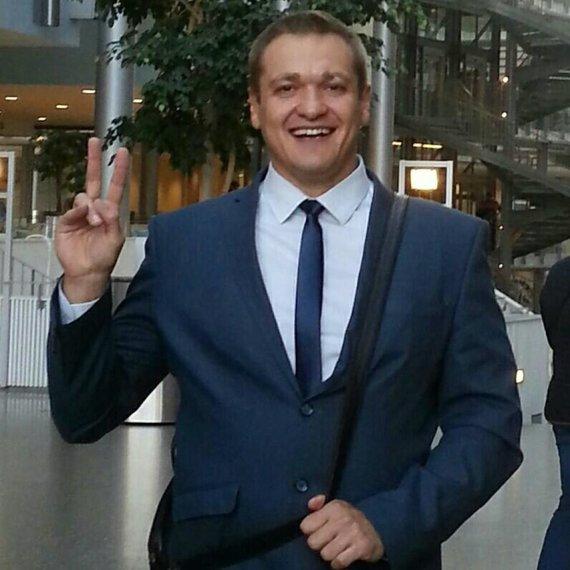 """Nuotr. iš """"Facebook""""/Vilniaus miesto apylinkės teismo teisėjas Eimutis Misiūnas kandidatuoja į vidaus reikalų ministrus"""