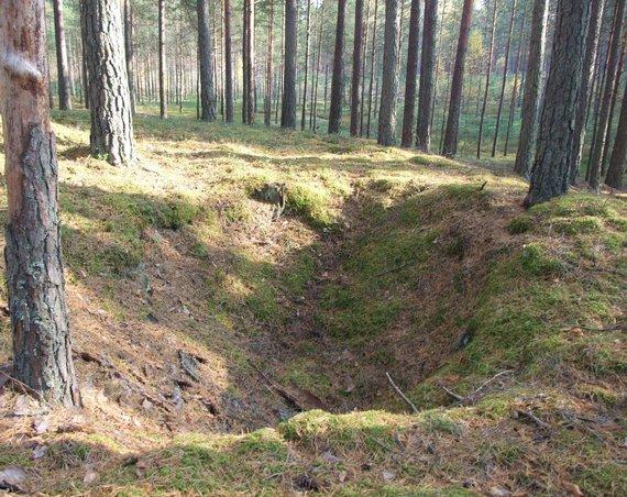 Varėnos rajono savivaldybės nuotr./Partizano Nemuno  bunkeris Jakulių miške