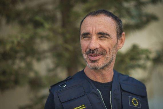LRT/P.Biro nuotr./Europos Komisijos Humanitarinės pagalbos departamento Jordanijoje patarėjas Mateo Paoltroni