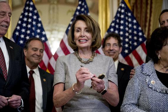 """""""Scanpix"""" nuotr./Nancy Pelosi"""