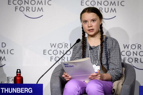 """AFP/""""Scanpix"""" nuotr./Greta Thunberg"""