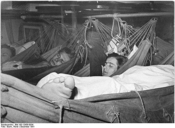 wikimedia.org/Vokiečių jūreiviai 1951-aisiais.
