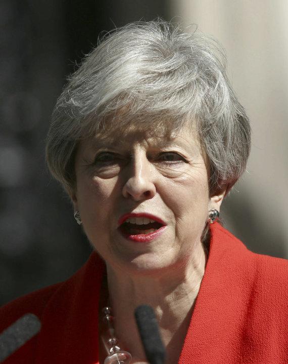"""Scanpix""/AP nuotr./Theresa May"