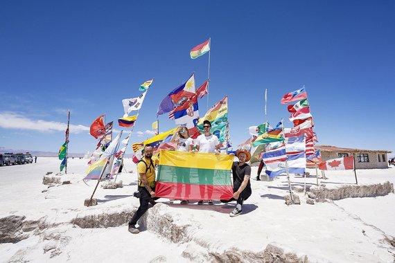Vytauto Dranginio ir organizatorių nuotr./Paul de Miko ir Deivido Bendžiaus nuotykiai Bolivijoje